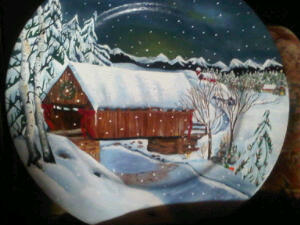 Painted Christmas 2010 and sold