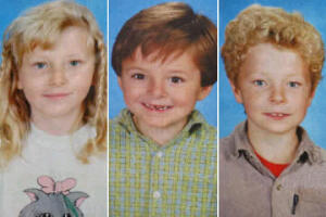 These are the sweet babies this man killed they were ages 4, 6, and 10 at the time he killed them.