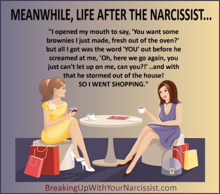 dating someone who was married to a narcissist