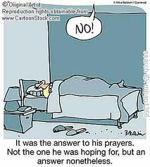 prayer answer no