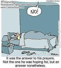 prayer answer no