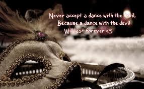 never accept a dance