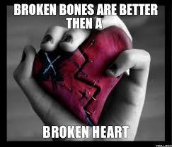 broken bones heart