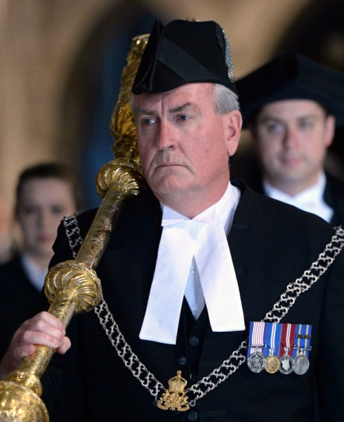 Sergeant at Arms Kevin Vickers is being hailed as the hero he is.