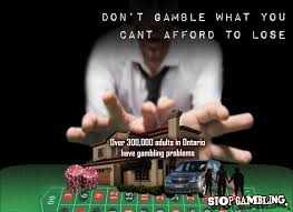 don't gamble what you can't afford to lose