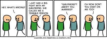 girlfriend mad
