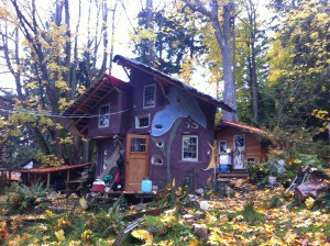 Cob House Denman Island