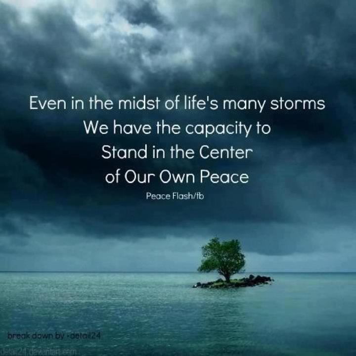 storms inner peace