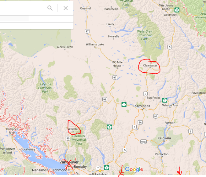 map of BC1